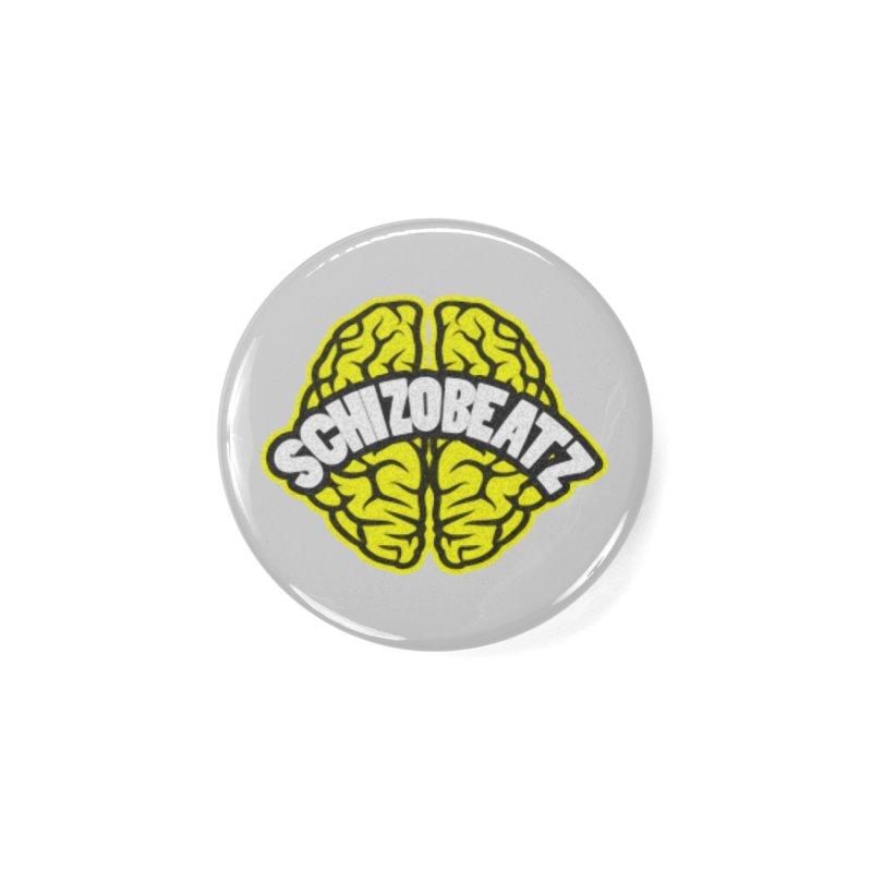 Sponge Brain Accessories Button by Schizo
