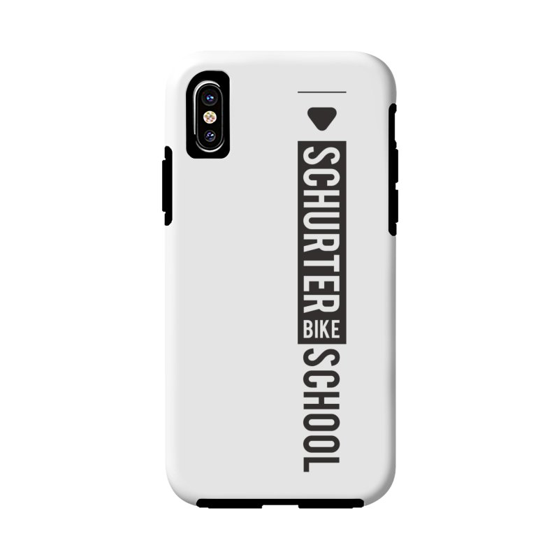 Schurter-Bike-School in iPhone X / XS Phone Case Tough by schurter-bike-school's Artist Shop