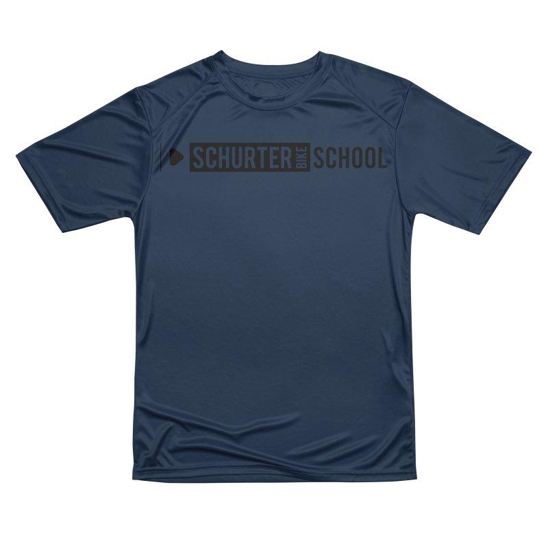 Schurter-Bike-School in Men's Performance T-Shirt Oxford by schurter-bike-school's Artist Shop