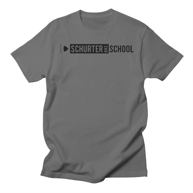 Schurter-Bike-School in Men's Regular T-Shirt Asphalt by schurter-bike-school's Artist Shop