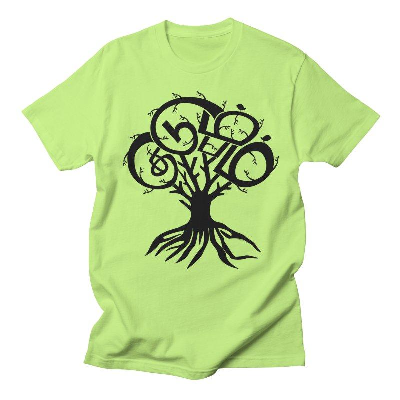 FAMILY TREE Men's T-shirt by Schwartz's Artist Shop