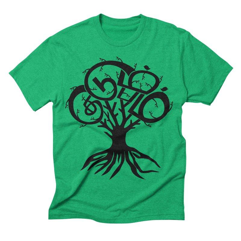 FAMILY TREE Men's Triblend T-shirt by Schwartz's Artist Shop