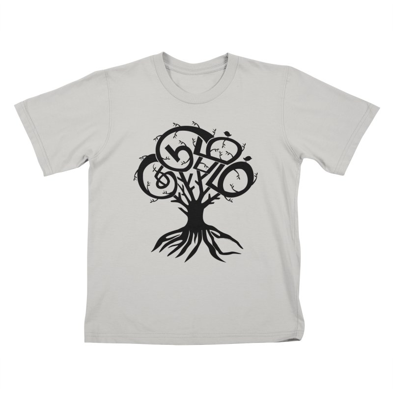 FAMILY TREE Kids T-Shirt by Schwartz's Artist Shop