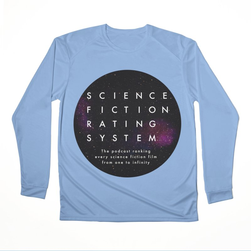 Circle SFRS Logo Women's Longsleeve T-Shirt by Science Fiction Rating System Podcast Shop