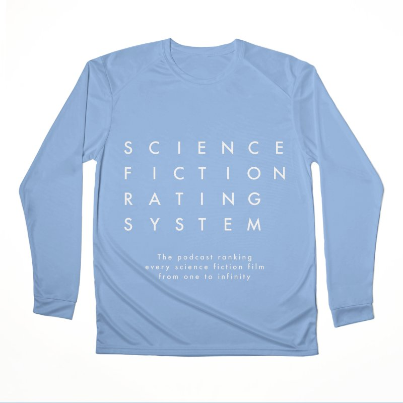 SFRS Logo Plain Women's Longsleeve T-Shirt by Science Fiction Rating System Podcast Shop