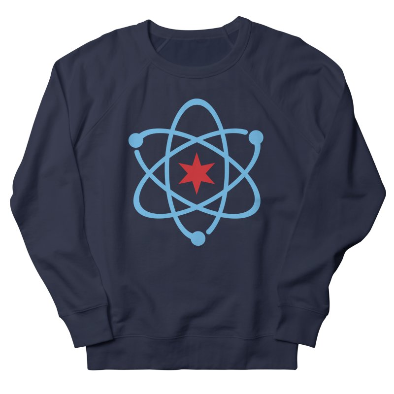 Original Logo Women's French Terry Sweatshirt by March For Science Chicago
