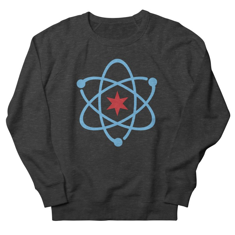 Original Logo Men's French Terry Sweatshirt by March For Science Chicago