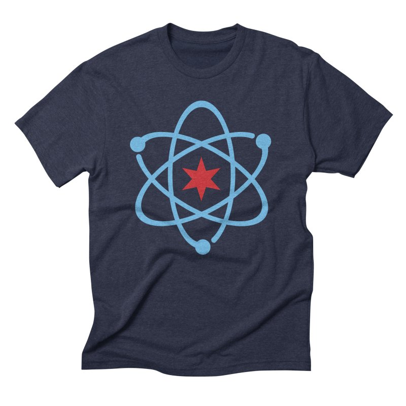 Original Logo Men's Triblend T-Shirt by March For Science Chicago