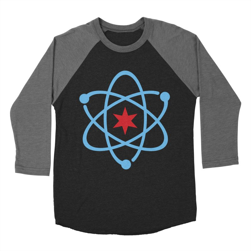 Original Logo Men's Baseball Triblend Longsleeve T-Shirt by March For Science Chicago