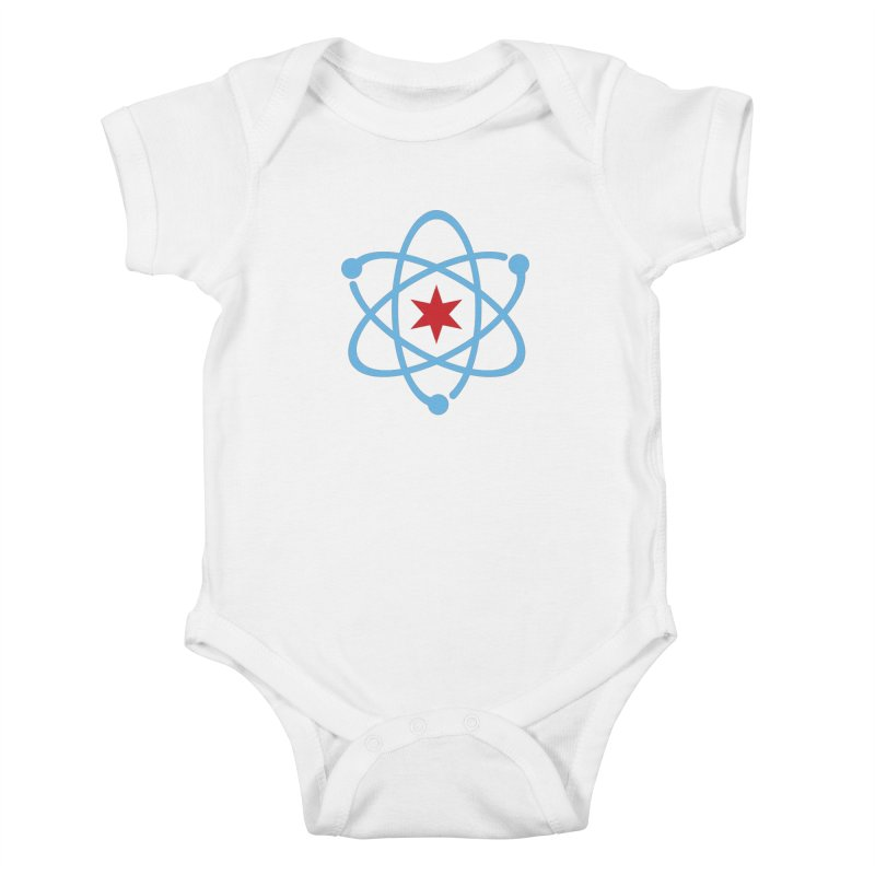 Original Logo Kids Baby Bodysuit by March For Science Chicago
