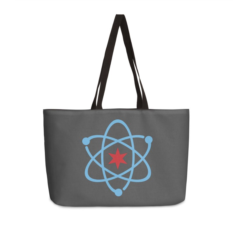 Original Logo Accessories Weekender Bag Bag by March For Science Chicago