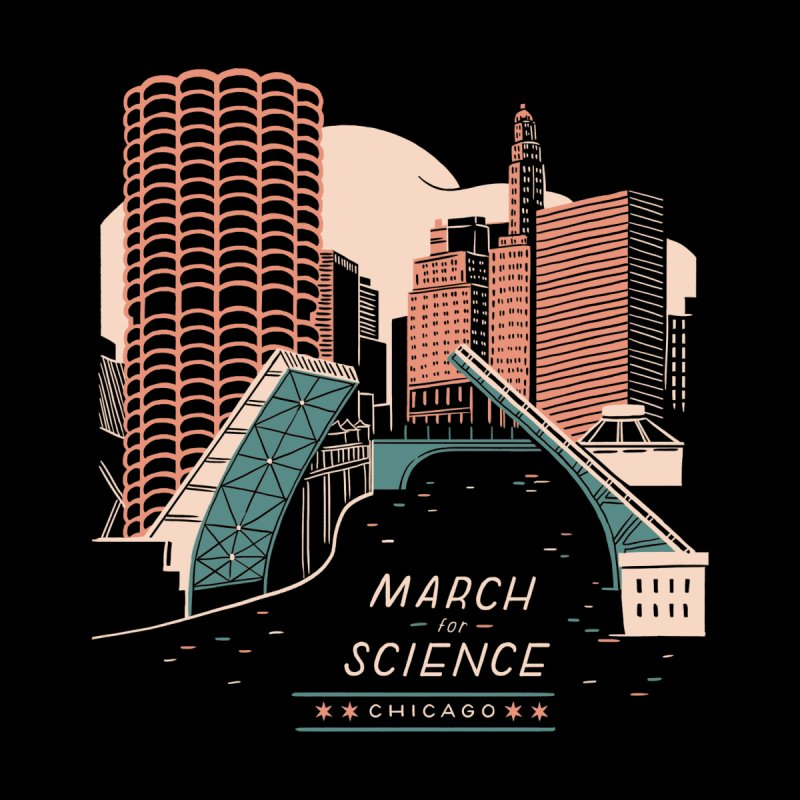 State Street Bridge by Julia Kuo by March For Science Chicago