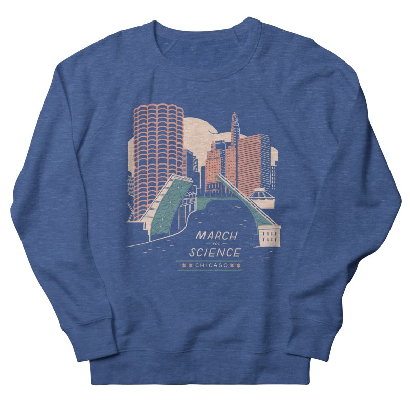 State Street Bridge by Julia Kuo Men's Sweatshirt by March For Science Chicago