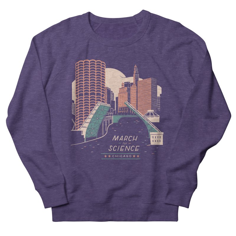 State Street Bridge by Julia Kuo Women's Sweatshirt by March For Science Chicago