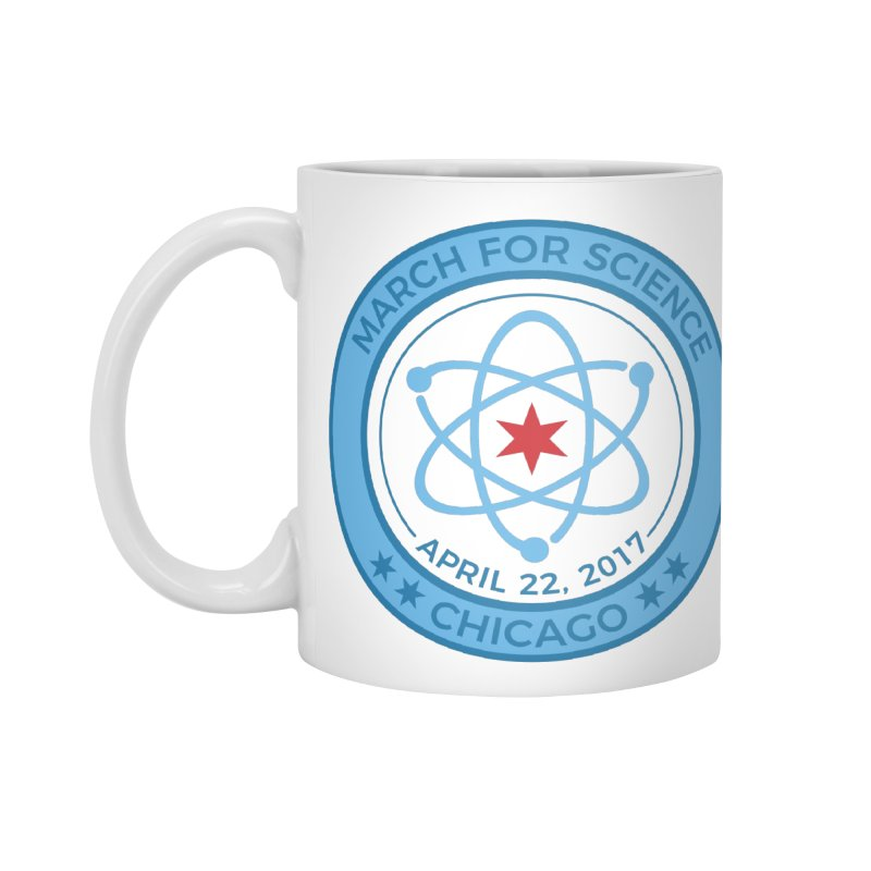 Emblem Accessories Mug by March For Science Chicago