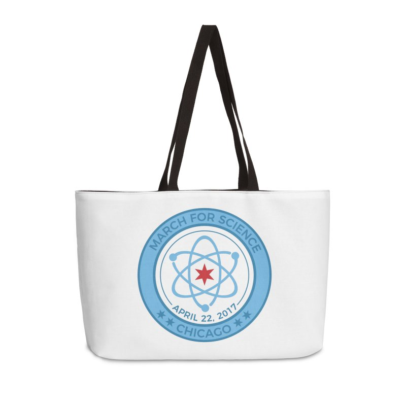 Emblem Accessories Weekender Bag Bag by March For Science Chicago