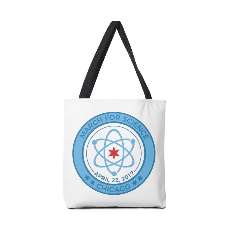 Emblem Accessories Tote Bag Bag by March For Science Chicago