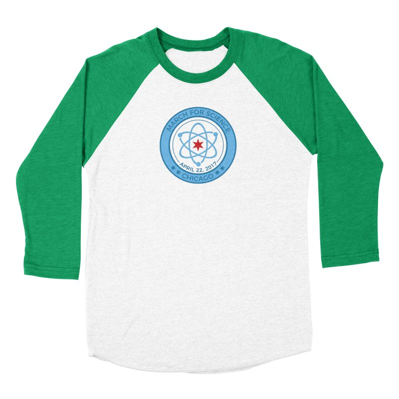 Emblem Men's Longsleeve T-Shirt by March For Science Chicago
