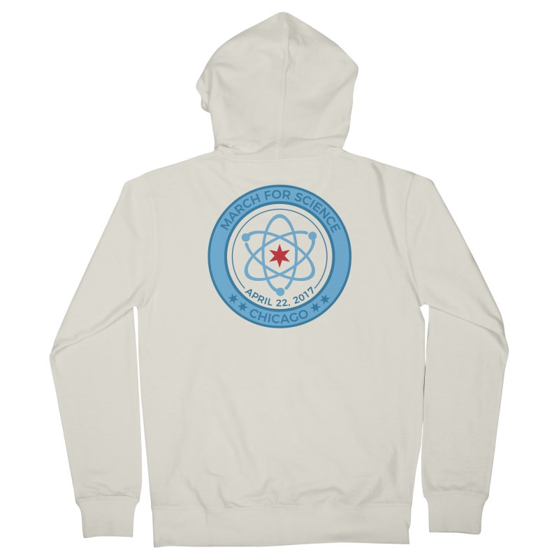 Emblem Women's French Terry Zip-Up Hoody by March For Science Chicago