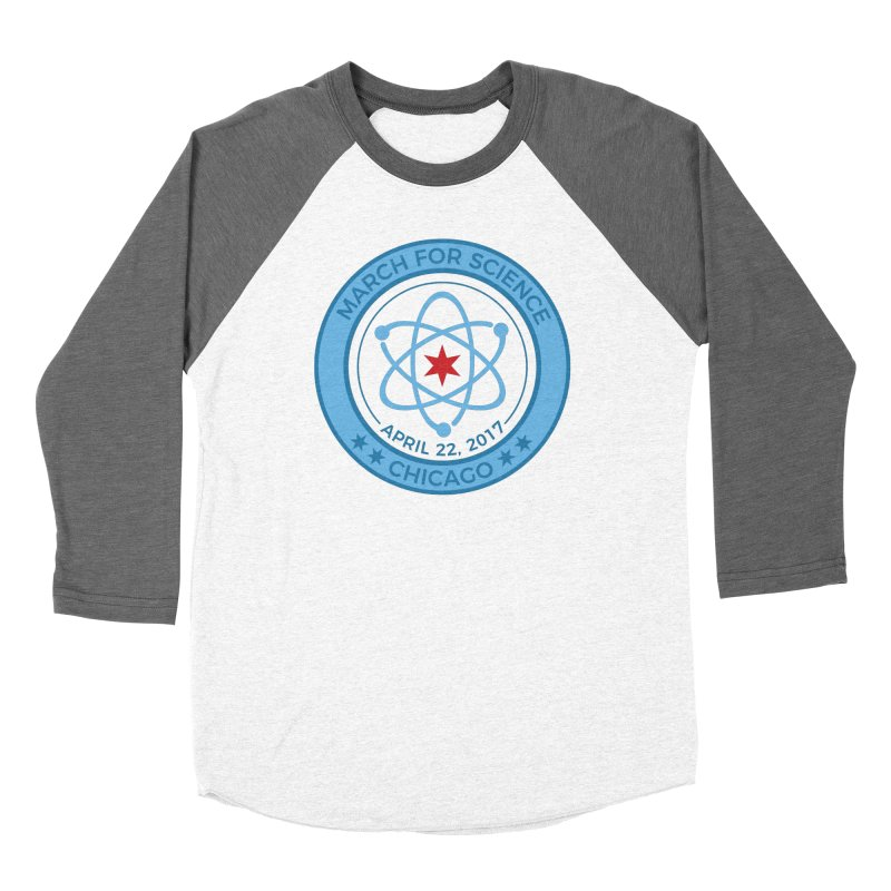 Emblem Women's Longsleeve T-Shirt by March For Science Chicago