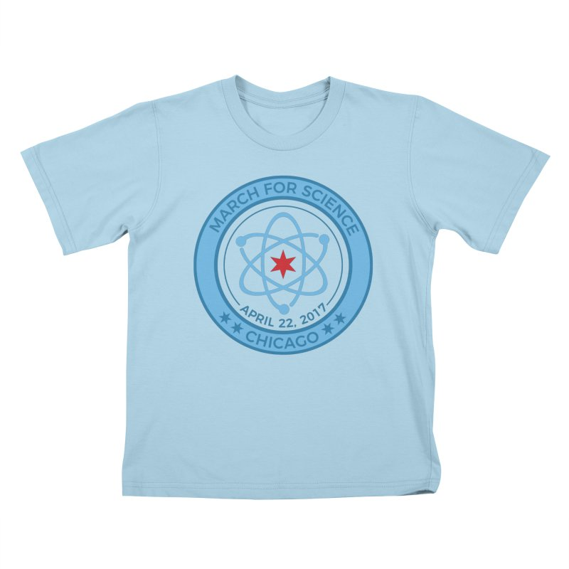 Emblem Kids T-Shirt by March For Science Chicago