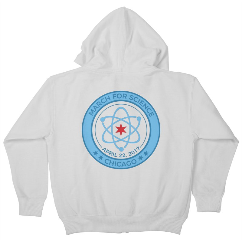Emblem Kids Zip-Up Hoody by March For Science Chicago