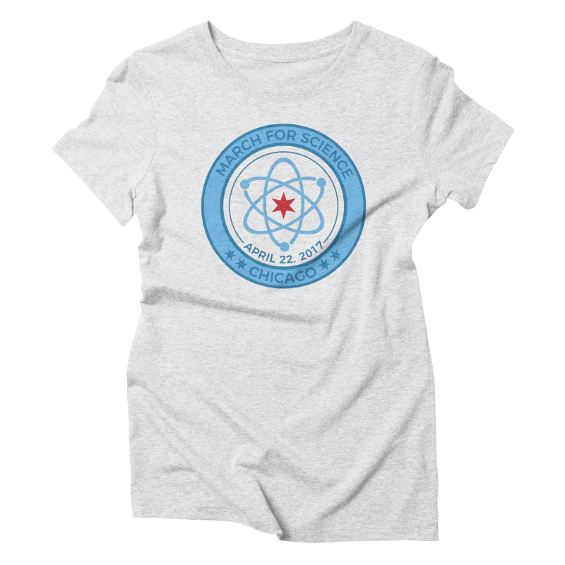 Emblem Women's T-Shirt by March For Science Chicago