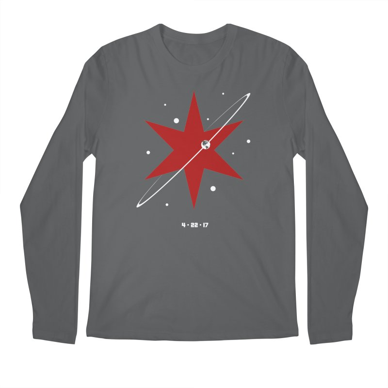 Revolution - Justin Van Genderen of 2046 Design Men's Longsleeve T-Shirt by March For Science Chicago