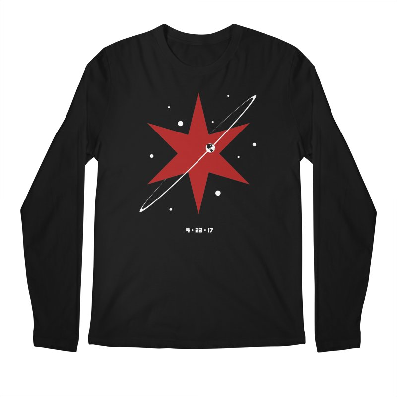 Revolution - Justin Van Genderen of 2046 Design Men's Regular Longsleeve T-Shirt by March For Science Chicago