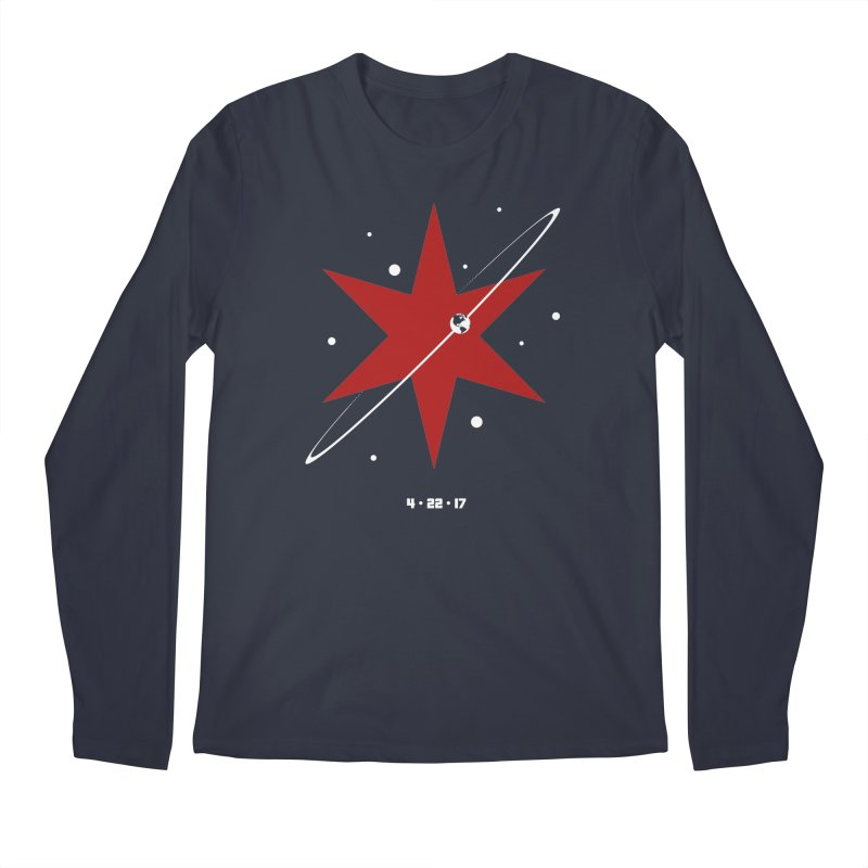 Revolution - Justin Van Genderen of 2046 Design Men's Regular Longsleeve T-Shirt by March For Science Chicago
