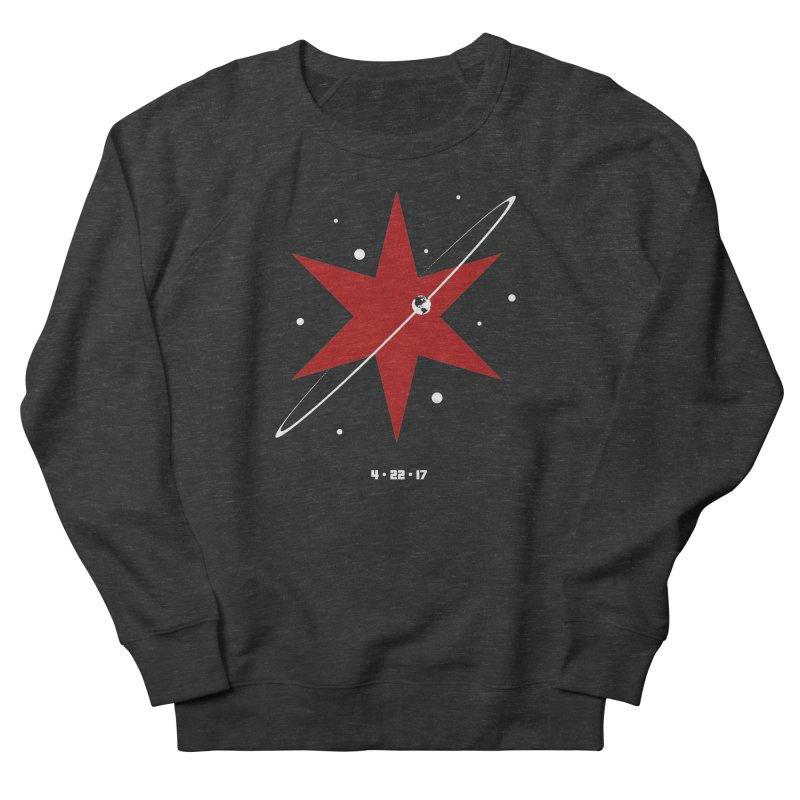 Revolution - Justin Van Genderen of 2046 Design Men's French Terry Sweatshirt by March For Science Chicago