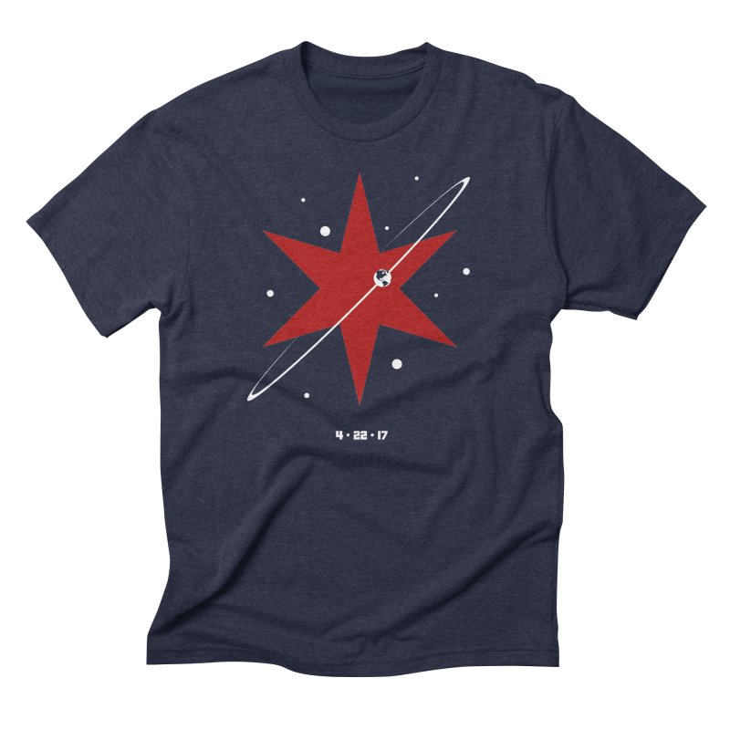 Revolution - Justin Van Genderen of 2046 Design Men's Triblend T-Shirt by March For Science Chicago