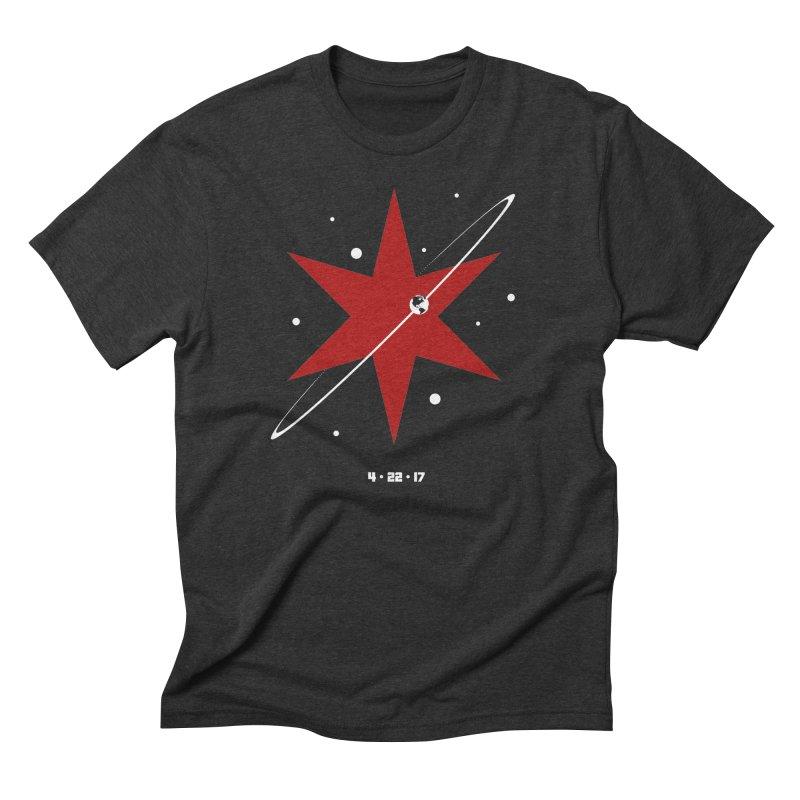 Revolution - Justin Van Genderen of 2046 Design Men's Triblend T-Shirt by March For Science Chicago