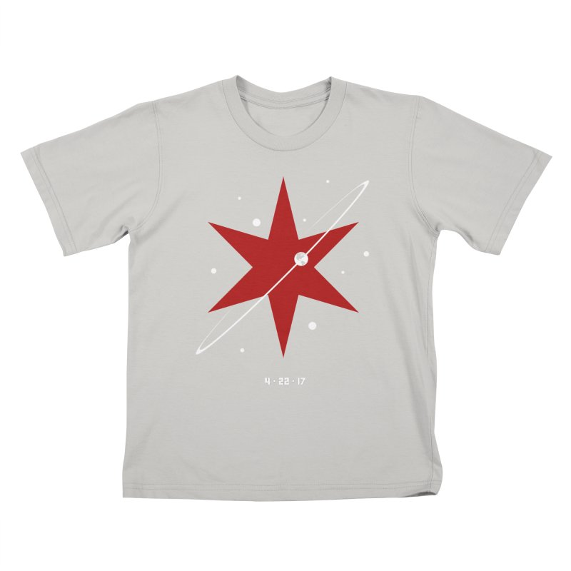 Revolution - Justin Van Genderen of 2046 Design Kids T-shirt by March For Science Chicago