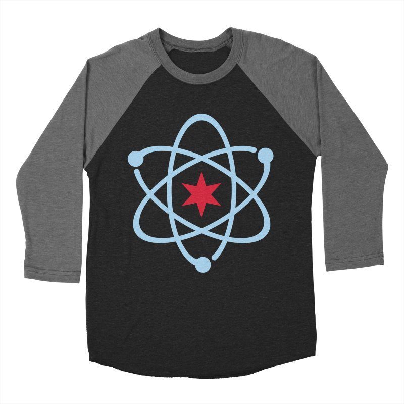 Donation Version - Original Logo Men's Baseball Triblend Longsleeve T-Shirt by March For Science Chicago