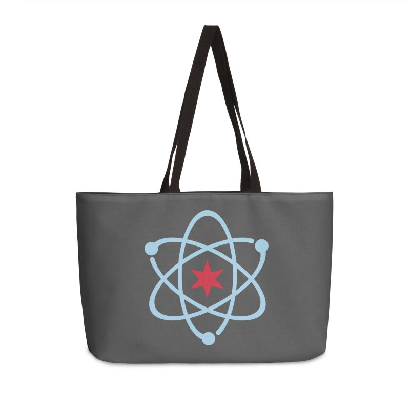 Donation Version - Original Logo Accessories Weekender Bag Bag by March For Science Chicago