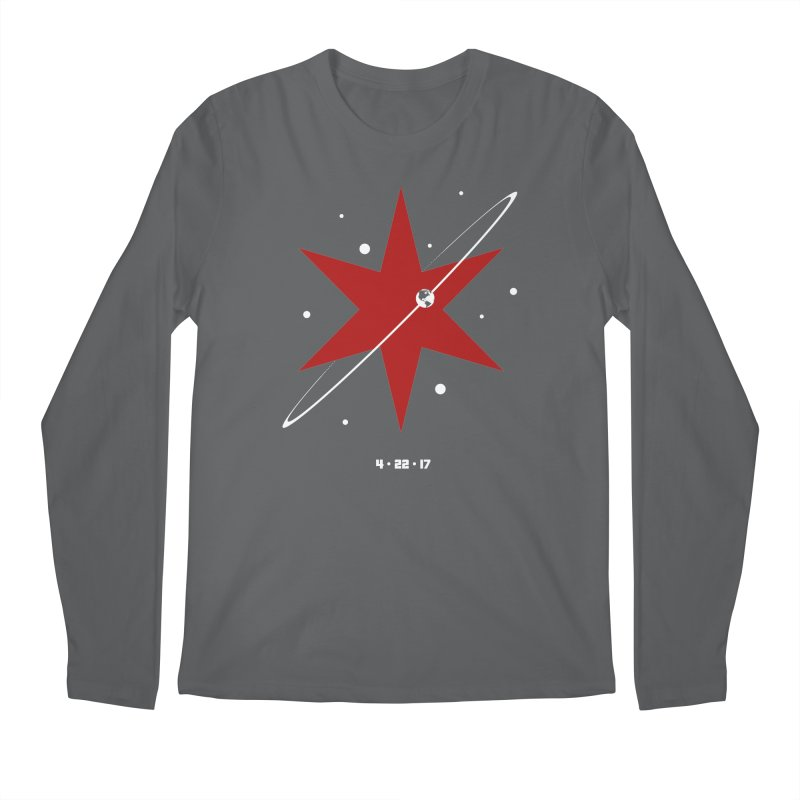 Donation Version - Revolution by Justin Van Genderen of 2046 Design Men's Longsleeve T-Shirt by March For Science Chicago