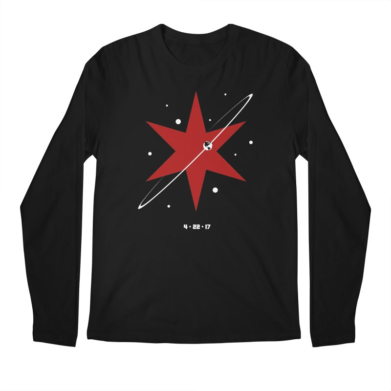 Donation Version - Revolution by Justin Van Genderen of 2046 Design Men's Regular Longsleeve T-Shirt by March For Science Chicago