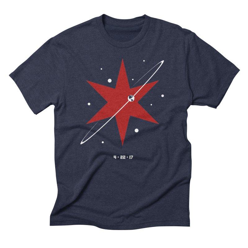 Donation Version - Revolution by Justin Van Genderen of 2046 Design Men's Triblend T-shirt by March For Science Chicago