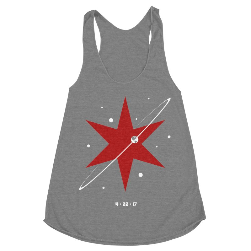 Donation Version - Revolution by Justin Van Genderen of 2046 Design Women's Tank by March For Science Chicago