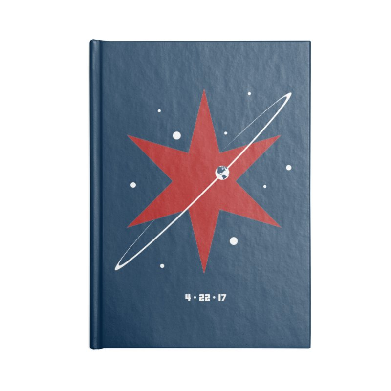 Donation Version - Revolution by Justin Van Genderen of 2046 Design Accessories Lined Journal Notebook by March For Science Chicago