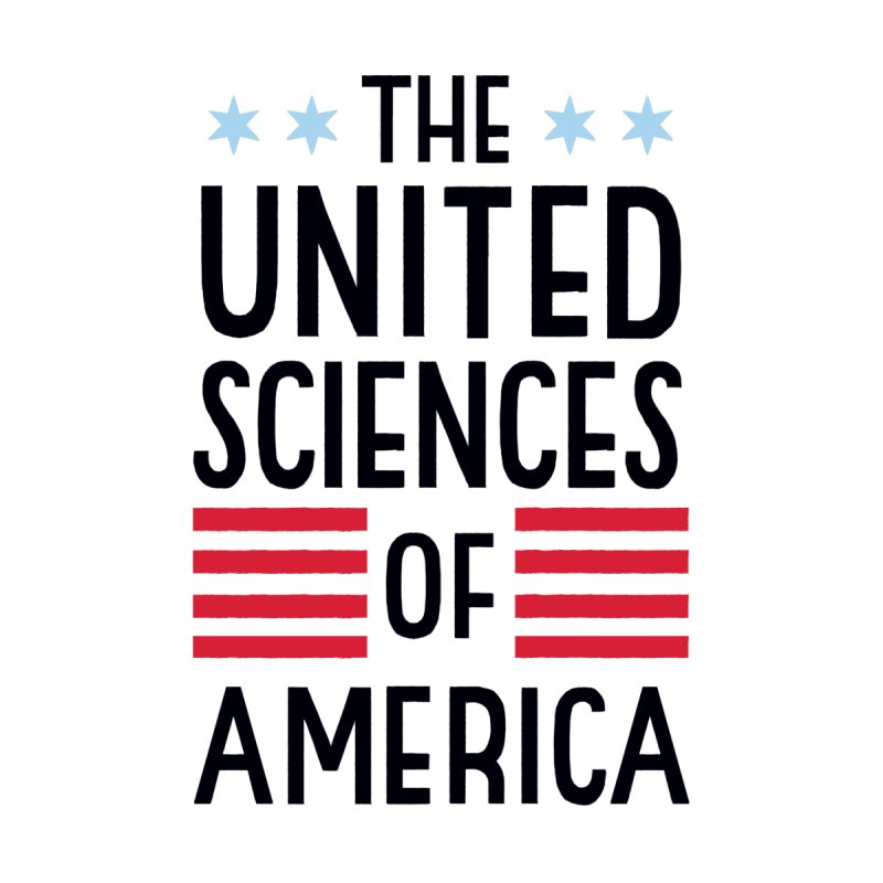 United Sciences of America by Julia Kuo Men's T-Shirt by March For Science Chicago