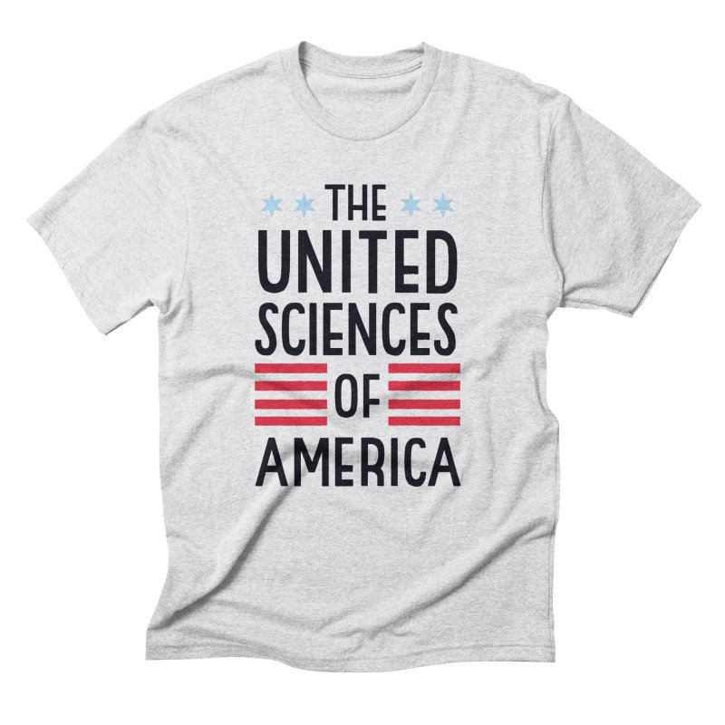 United Sciences of America by Julia Kuo Men's Triblend T-Shirt by March For Science Chicago