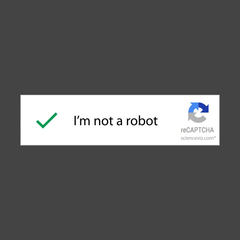 Not a robot by scienceviz's Shop
