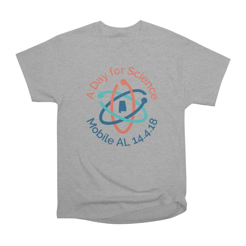 A Day for Science 2018 in Men's Classic T-Shirt Heather Graphite by March for Science Mobile Store