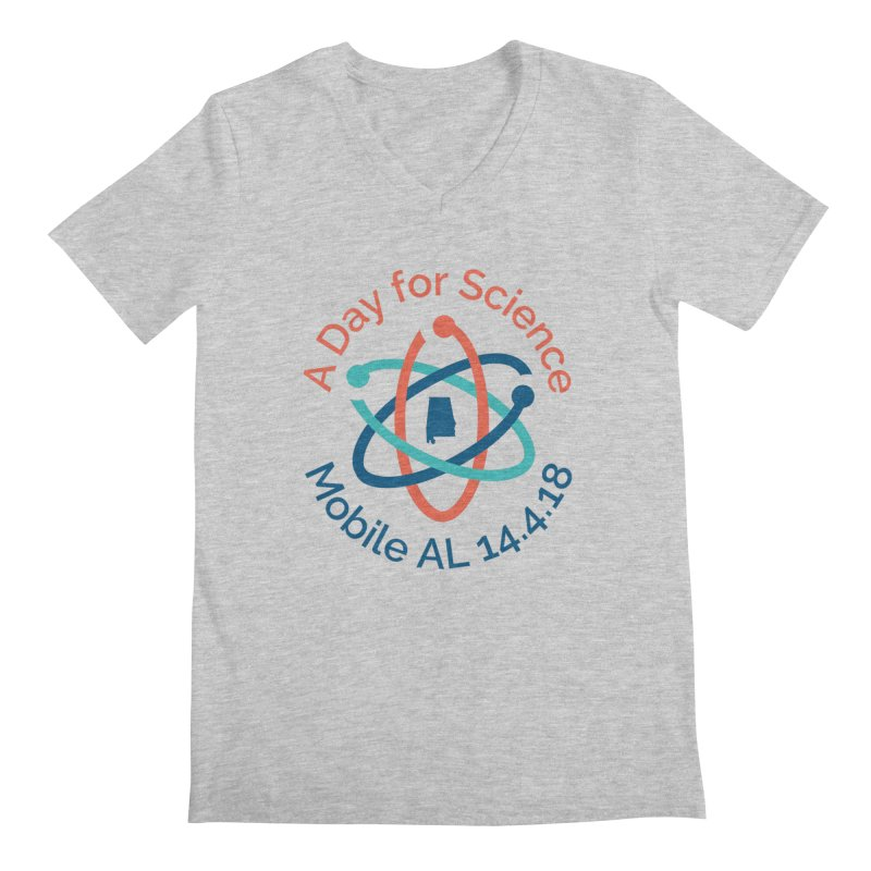 A Day for Science 2018 Men's Regular V-Neck by March for Science Mobile Store