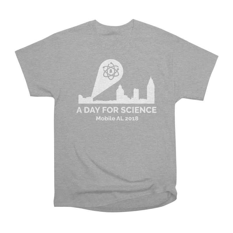 Calling on Science! Women's Heavyweight Unisex T-Shirt by March for Science Mobile Store