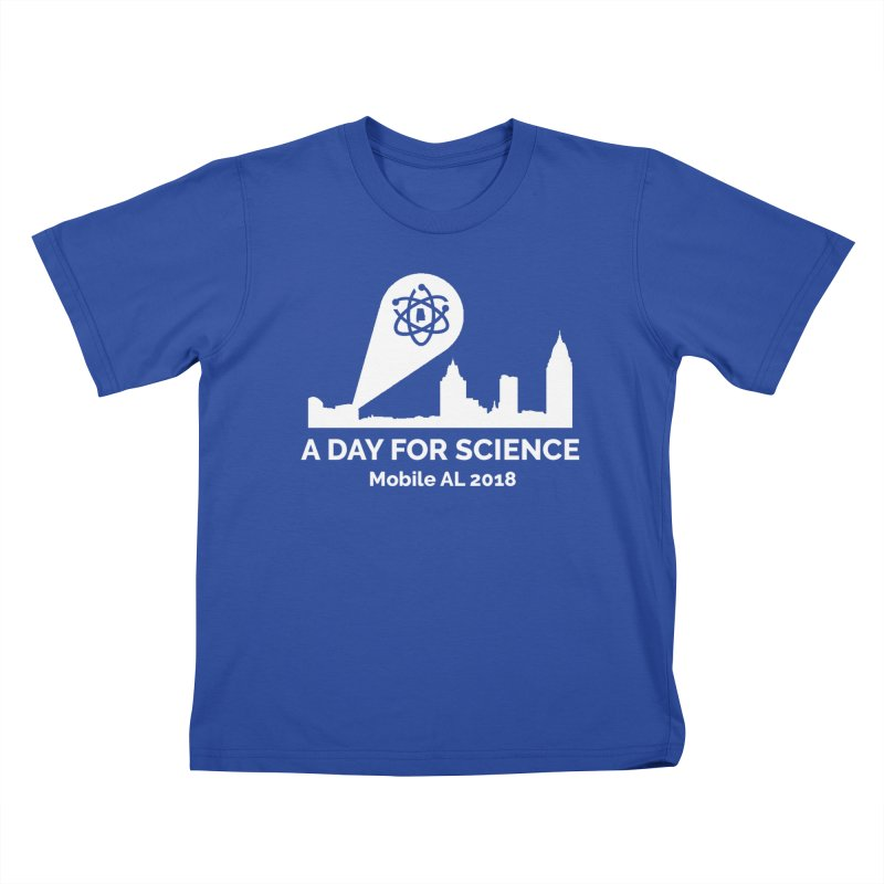 Calling on Science! Kids T-Shirt by March for Science Mobile Store