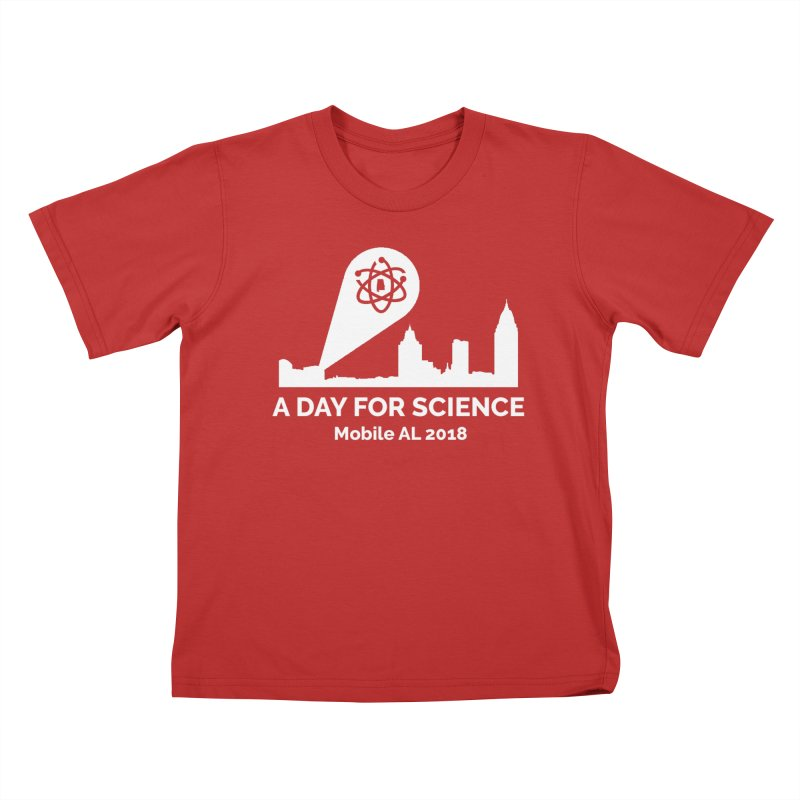 Kids None by March for Science Mobile Store