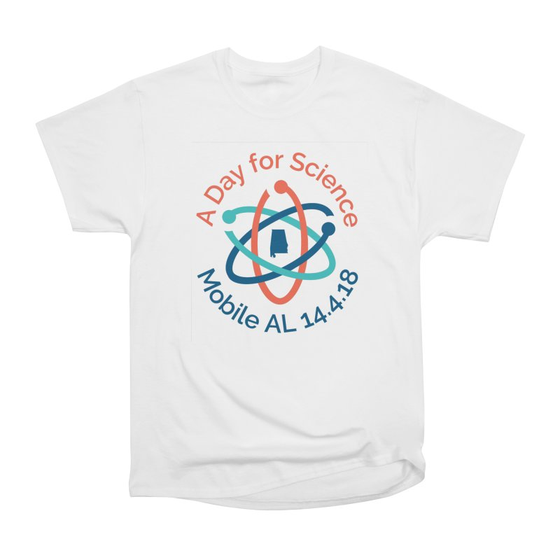Donation Version - A Day for Science Men's Heavyweight T-Shirt by March for Science Mobile Store